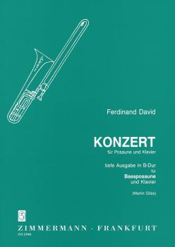 Ferdinand David: Concerto In B Flat (Bass Trombone)