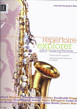 James Rae: Repertoire Explorer: Alto Saxophone - Graded Pieces For Beginners