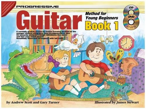 Progressive Guitar Method For Young Beginners: Book 1
