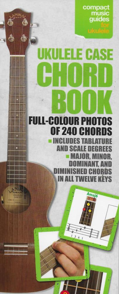 Ukulele Case Chord Book - Full Colour