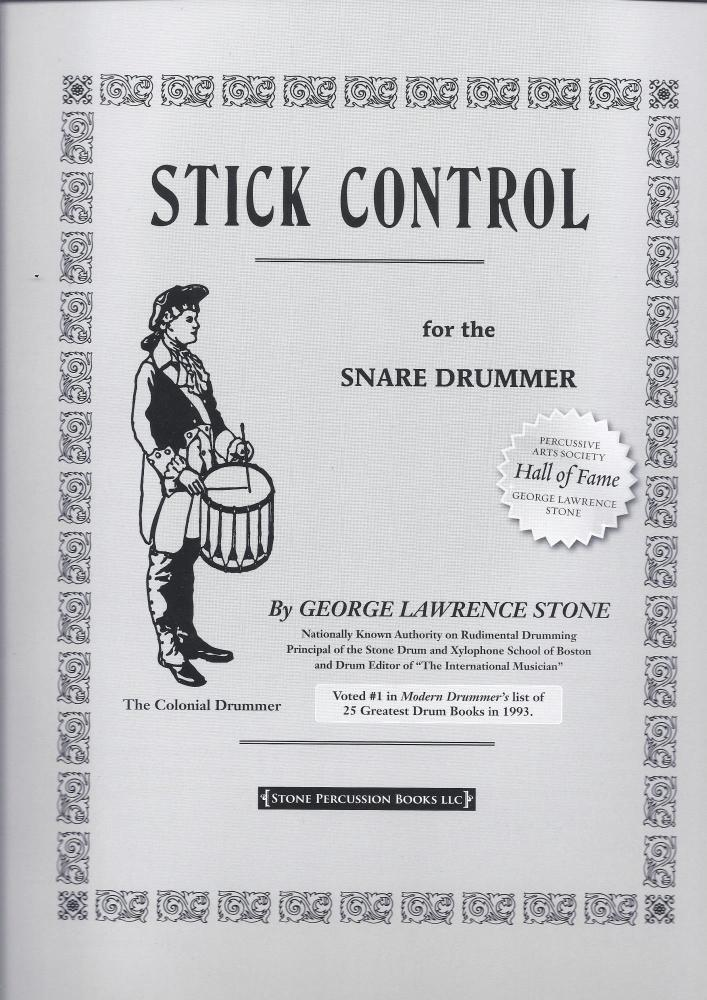 George Lawrence Stone: Stick Control For The Snare Drummer