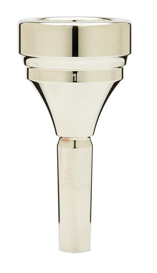 Denis Wick Classic Tuba silver plated mouthpiece - 1