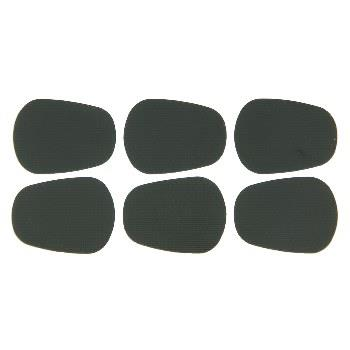 BG Small Mouthpiece Patch 0.8mm, black - Pack of 6