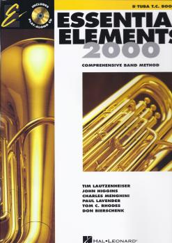 Essential Elements 2000 - Tuba Book 1 (Treble Clef)