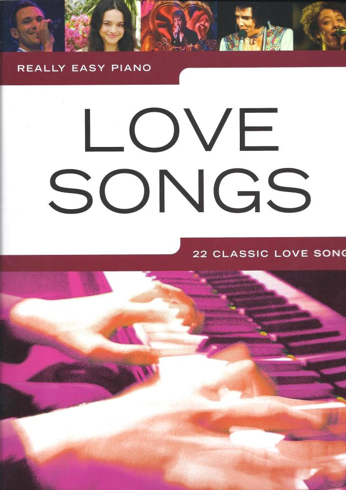 Really Easy Piano: Love Songs