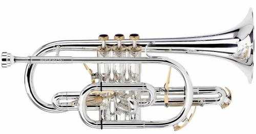 Besson BE2028-S Bb Prestige Cornet in Silver Plate