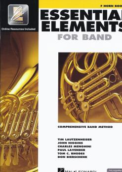 Essential Elements 2000: Horn Book 1 (Book/CD-ROM)