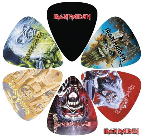 Perri 6 Pack Iron Maiden Picks