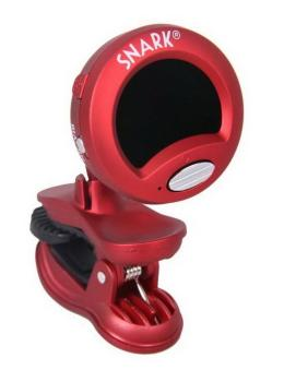 Snark Supertight Clip on Tuner - Red