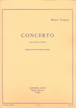 Henri Tomasi: Concerto (Trombone and Orchestra)