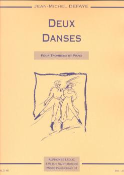 Jean-Michel Defaye: Two dances (Trombone, Piano)
