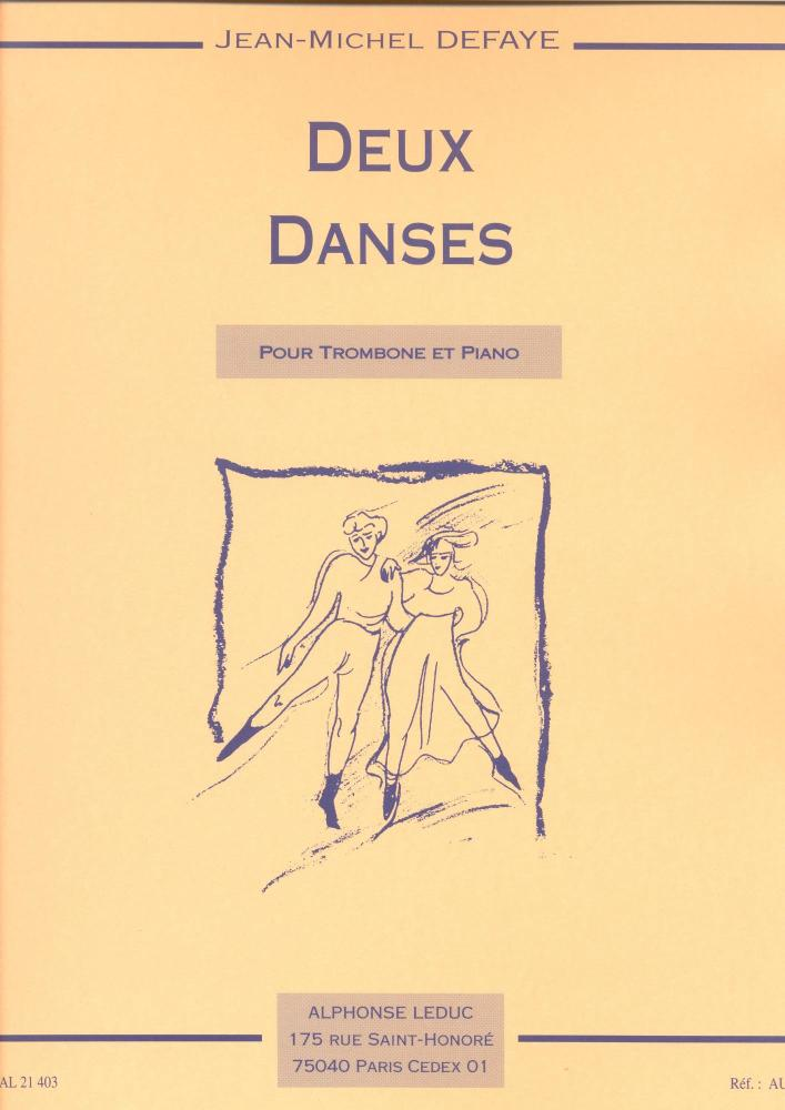 Jean-Michel Defaye: Two dances (Trombone, Piano)