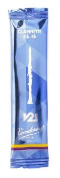 Vandoren V21 Bb Clarinet Reed 2.5 Single