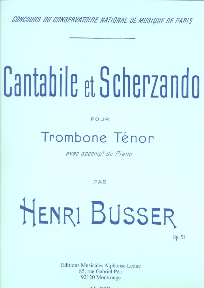 Cantabile et Scherzando for Trombone