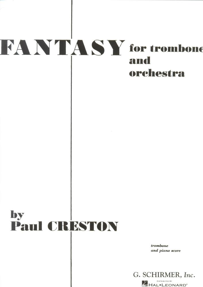 FANTASY FOR TROMBONE (Creston)