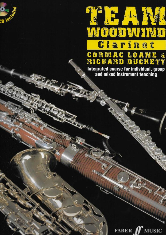 TEAM WOODWIND CLARINET (INCLUDES CD) CLT BOOK/CD