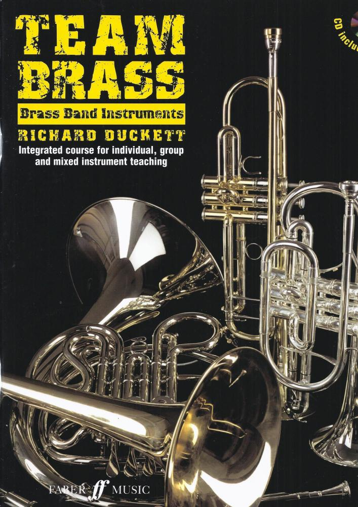 Team Brass: Brass Band Instruments (Book/CD)