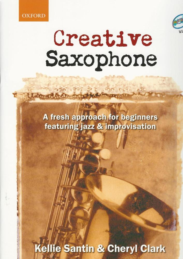 CREATIVE SAXOPHONE BOOK/CD