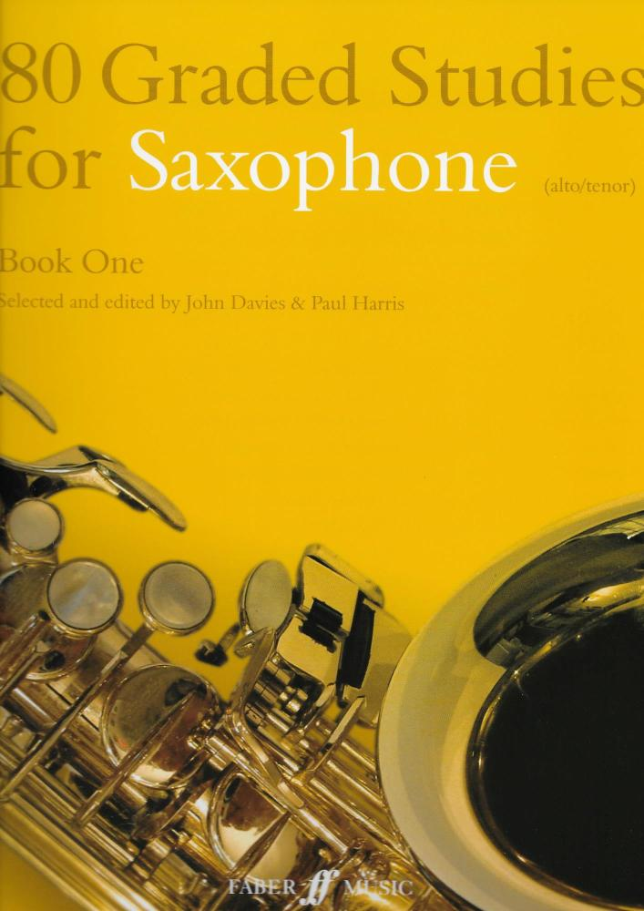 80 GRADED STUDIES FOR SAXOPHONE BOOK ONE ASAX