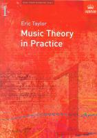 Music Theory In Practice - Grade 1 (Revised 2008 Edition)