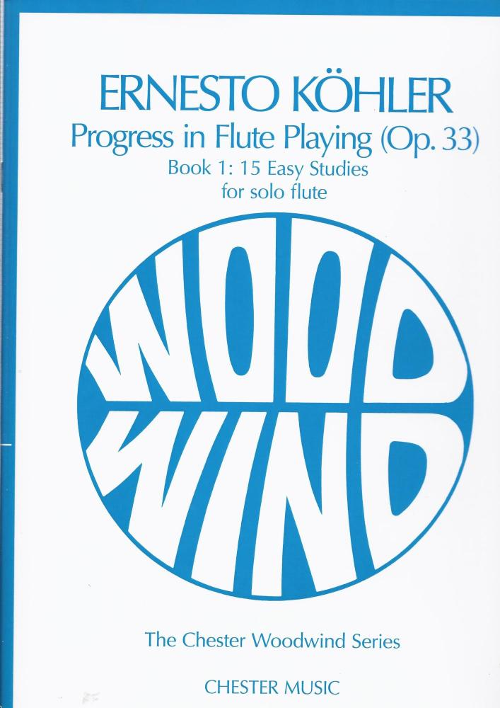 KOHLER PROGRESS IN FLUTE PLAYING OP.33 BOOK 1