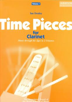 TIME PIECES FOR CLARINET VOLUME 1 CLT