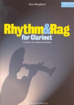 ALAN HAUGHTON RHYTHM AND RAG FOR CLARINET CLT