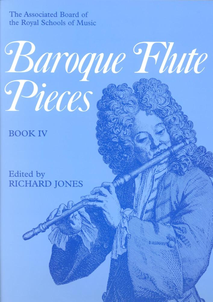 BAROQUE FLUTE PIECES BOOK 4 FLT