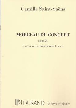 Camille Saint-Saens: Morceau De Concert Op.94