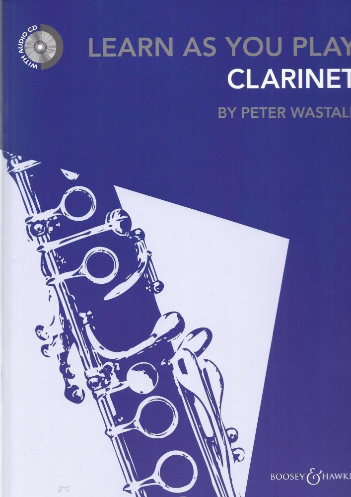 LEARN AS YOU PLAY CLARINET (BOOK ONLY) CLT