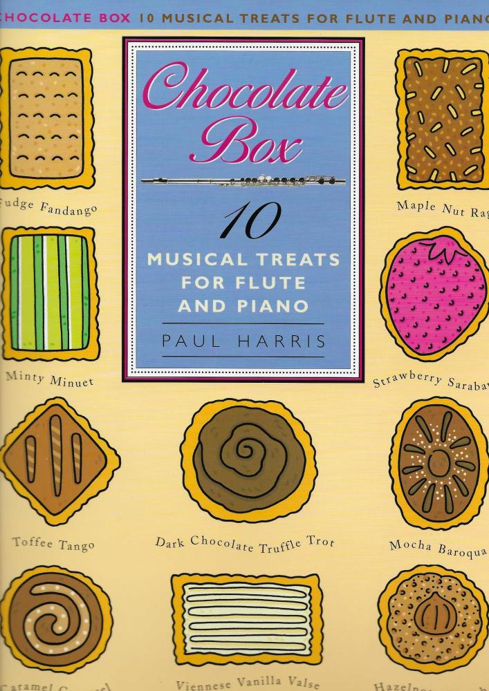 PAUL HARRIS CHOCOLATE BOX 10 MUSICAL TREATS FOR FLUTE AND PIANO FLT