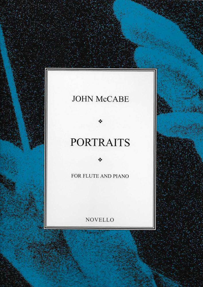 JOHN MCCABE PORTRAITS FOR FLUTE AND PIANO FLT