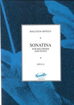 MALCOLM ARNOLD SONATINA FOR RECORDER AND PIANO OP.41