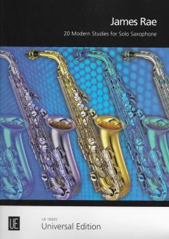 James Rae: 20 Modern Studies For Solo Saxophone