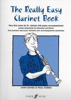 THE REALLY EASY CLARINET BOOK (B FLAT EDITION) CLT