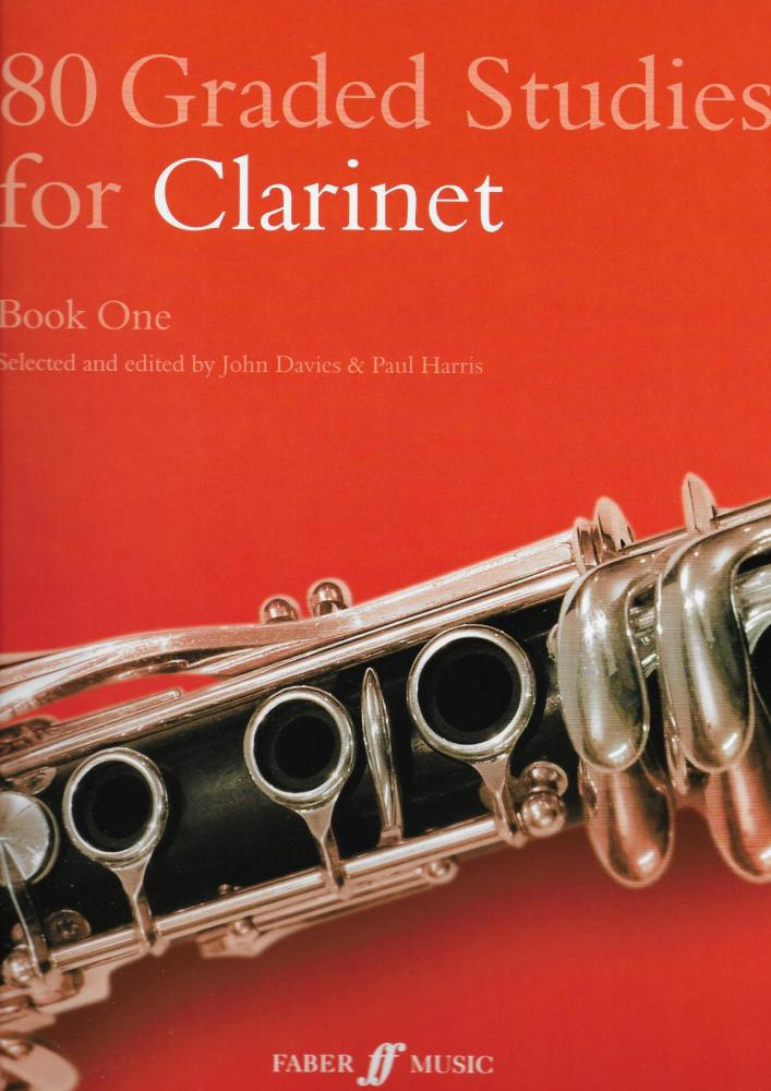 80 GRADED STUDIES FOR CLARINET BOOK ONE CLT