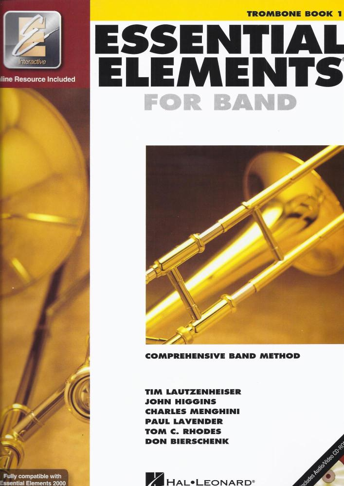 Essential Elements 2000: Trombone Book 1 (Book/CD-ROM)