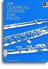 Frans Vester: 100 Classical Studies For Flute
