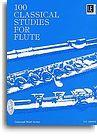 Frans Vester: 100 Classical Studies For Flute