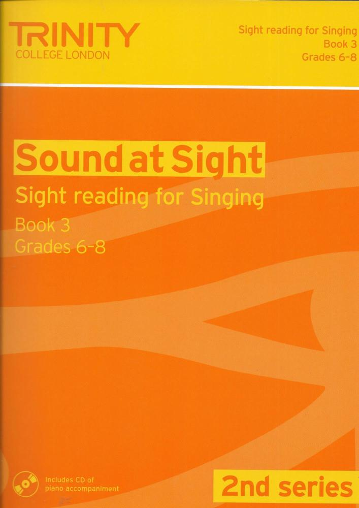 Sound At Sight (2nd Series): Singing Book 3 - Grades 6-8