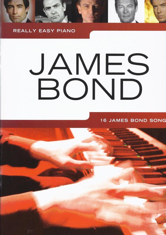 James Bond - Really Easy Piano