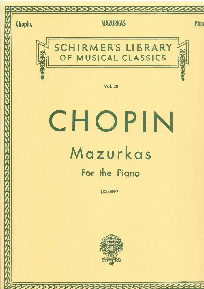 Frederic Chopin: Mazurkas For The Piano