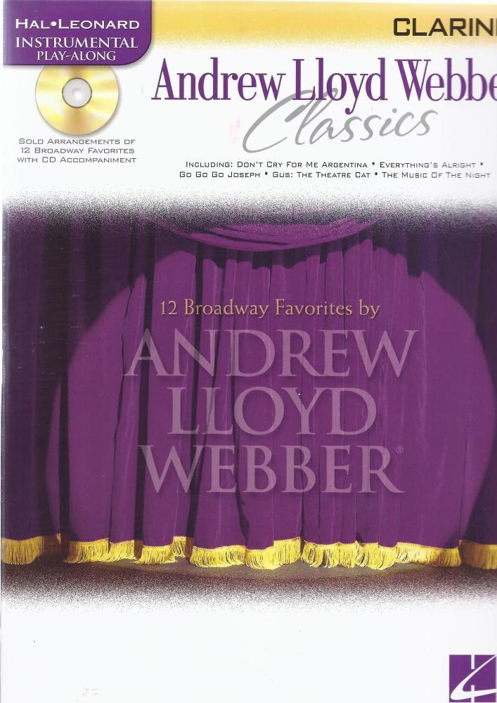 Instrumental Play-Along: Andrew Lloyd Webber Classics (Clarinet)