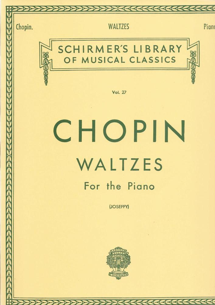 Frederic Chopin: Waltzes For The Piano