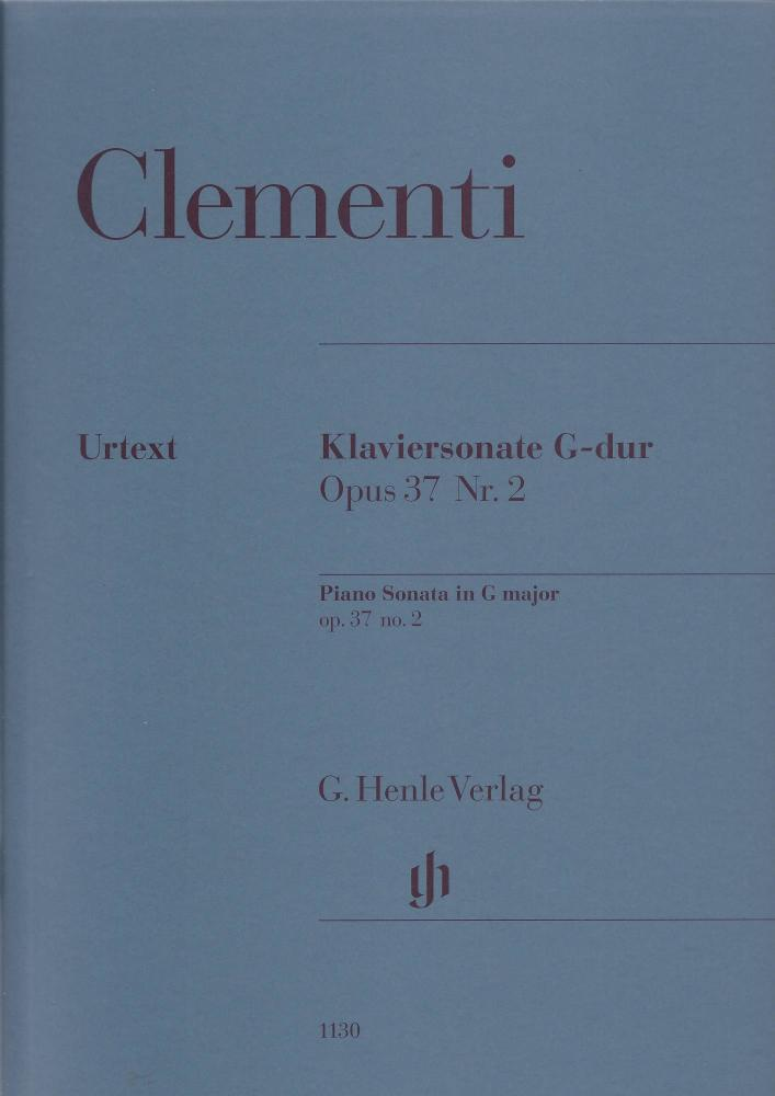 Muzio Clementi: Piano Sonata In G Op.37 No.2