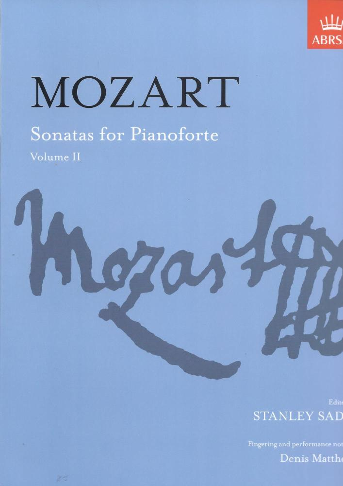W.A Mozart: Sonatas For Pianoforte Volume 2 (ABRSM)