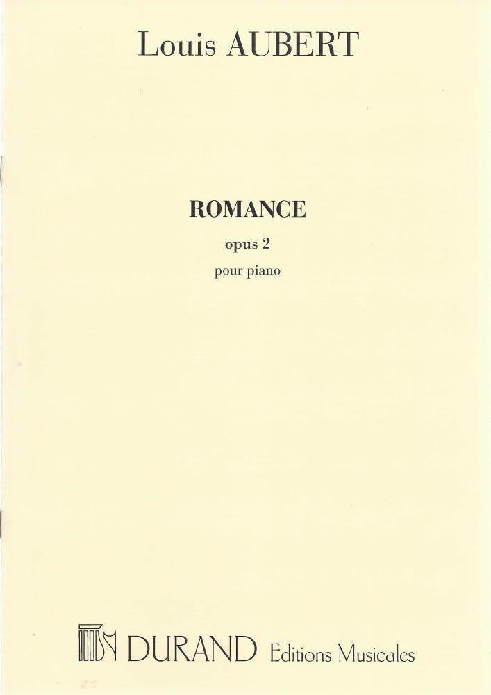 Romance Opus 2 - Aubert
