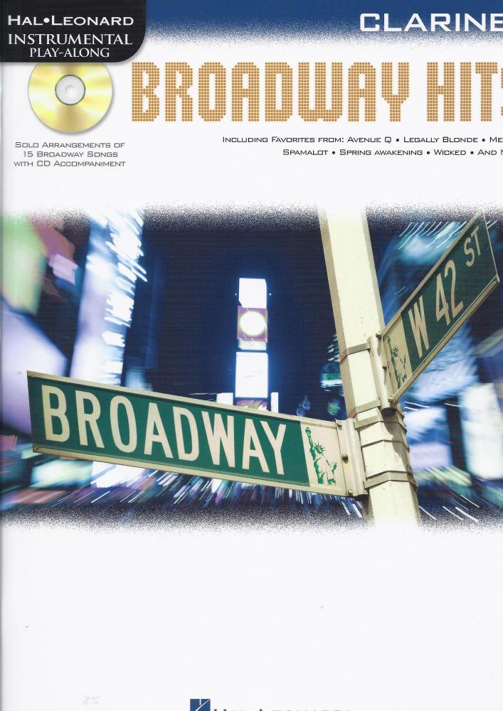 Clarinet Play-Along: Broadway Hits
