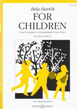 Bela Bartok: For Children Volume One