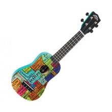 Beatles Ukulele Outfit - The Wall